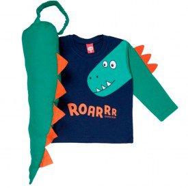 camiseta fantasia dinossauro 7203 2 1