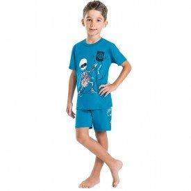 8897 turquesa pijama