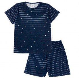 pijama conjunto marinho