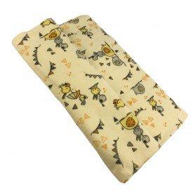 4545 cobertor mantinha bebe unissex bichinhos amarelo 1 dudalui