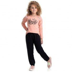 4839 conjunto infantil menina princess coral