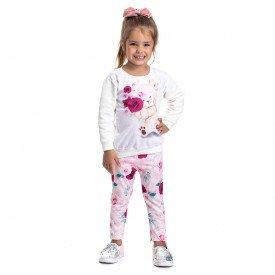4831 conjunto kids menina loving bear off com pink dudalui